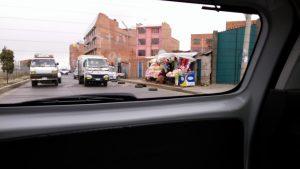 El Ceibo Truck in El Alto, Bolivia