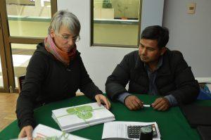 El Alto Übergabe Workshop-Unterlagen an Hoved Pacara