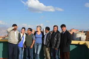El Alto Gruppenbild mit dem Vorstand von El Ceibo