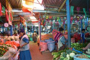 La Paz Grünmarkt
