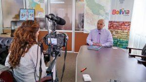La Paz Interview mit Vizeminister für Tourismus
