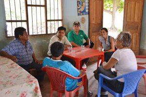 Sapecho Gespräche mit Chef der örtlichen Kooperative