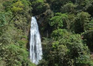 unterwegs Wasserfall