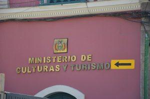 Ministerium für Kultur und Tourismus, La Paz